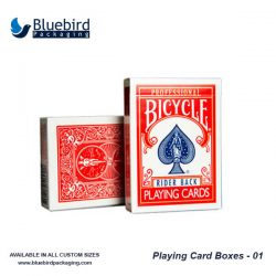 playing card boxes